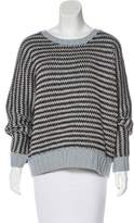 Wes Gordon Wool & Cashmere-Blend Sweater
