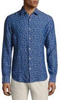 Bonobos Daisy-Print Premium Italian Cotton Shirt