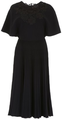 Valentino Plated Midi Dress