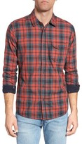 Jeremiah Men's Buckingham Regular Fit Reversible Sport Shirt