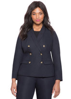 ELOQUII Plus Size Studio Nautical Blazer