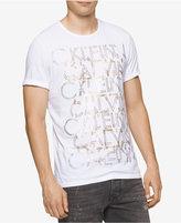 Calvin Klein Jeans Men's CKJ Repeat Metallic-Print Logo T-Shirt
