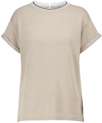 Brunello Cucinelli Cotton-blend T-shirt