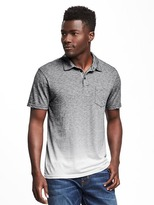 Old Navy Dip-Dye Pocket Polo for Men