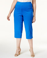 Alfred Dunner Plus Size Corsica Collection Pull-On Capri Pants