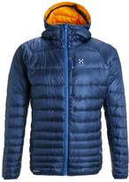 Haglöfs Essens Iii Down Jacket Hurricane Blue/saffron
