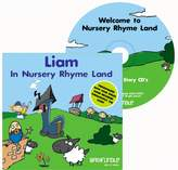 BabyCentre Barafundle Personalised Story CD Liam in Nursery Rhyme Land