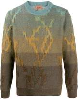 Missoni gradient effect jumper