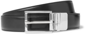 Dunhill 3cm Black Leather Belt