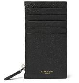 Givenchy Cross-Grain Leather Card Holder