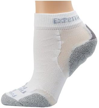 Thorlos Experia Mini Crew Single Pair (White) Crew Cut Socks Shoes