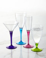 Colorful Martini Glasses, Set of 4