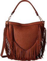 Gabriella Rocha Gail Woven Crossbody with Fringe