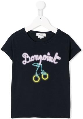 Bonpoint graphic-print cotton T-shirt