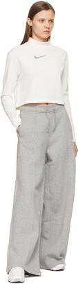 Nike Grey NSW Fleece Lounge Pants