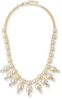 Jules Smith Designs Faux-Pearl Crystal Necklace