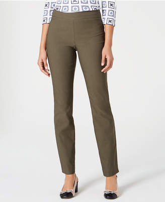 Charter Club Cambridge Skinny Pull-On Tummy-Control Pants