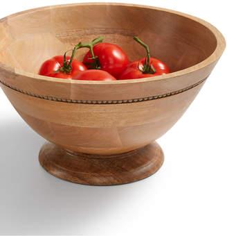 Martha Stewart Collection Wood Salad Bowl