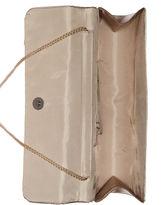 Jessica McClintock Handbag, Satin Long Evening Clutch with Rosette