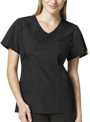 WONDERWINK Size Origins India Women's Plus Scrub Top