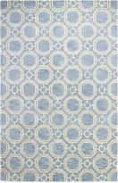Bashian Brothers Bashian Gramercy Hex Light Blue 7'9'' x 9'9'' Area Rug
