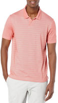 Perry Ellis Striped Performance Polo