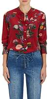 Isabel Marant Women's Rusak Floral Silk Tunic Blouse