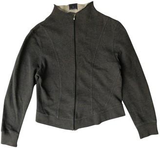 Trussardi Grey Cotton Knitwear for Women