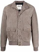 Thumbnail for your product : Valstar High-Neck Suede Jacket