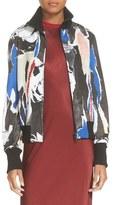 DKNY Print Bomber Jacket