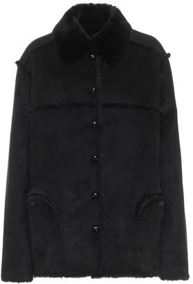 BLAZÉ MILANO Diabolic faux-suede jacket
