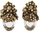 Miriam Haskell Crystal Earrings
