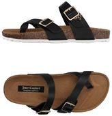 Juicy Couture Toe post sandal
