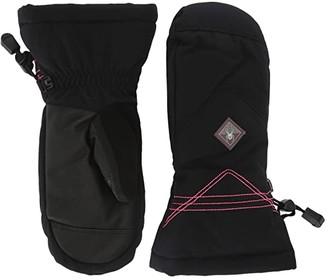 Spyder Inspire (Little Kids/Big Kids) (Black) Extreme Cold Weather Gloves
