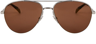 Givenchy Mirrored Aviator Sunglasses