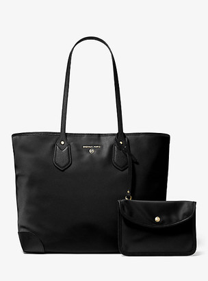 Michael Kors Eva Large Nylon Gabardine Tote Bag