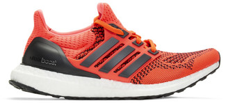 adidas Red and Black UltraBOOST Sneakers