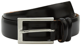 Jaeger High Shine Leather Belt, Black
