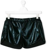Andorine glossy running shorts