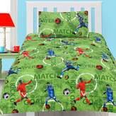 Happy Kids Footy Glow in the Dark Comforter Set