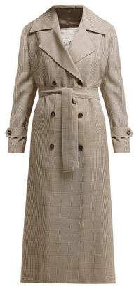 Giuliva Heritage Collection The Christie Lana Double-breasted Wool Trench Coat - Womens - Brown