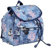 Le Sport Sac Vacation Paradise Small Edie Backpack (Toddler/Kids) - Blue - One Size