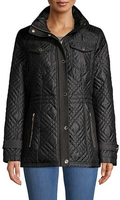 MICHAEL Michael Kors Missy Quilted Anorak