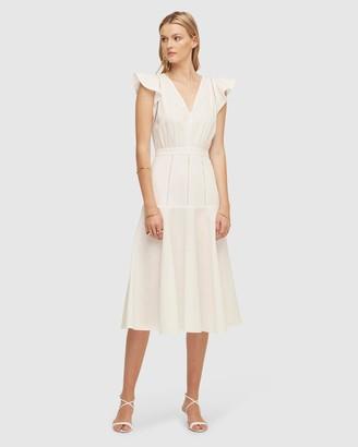 Lover Echelle Midi Dress