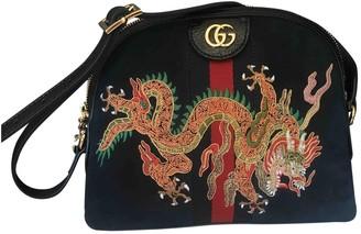 Gucci Ophidia Navy Suede Handbags