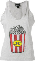 Just Cavalli popcorn print vest - women - Cotton - 38