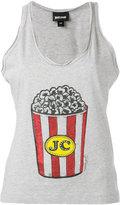 Just Cavalli popcorn print vest - women - Cotton - 42
