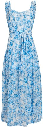 Intermix Jude Floral Print Midi Dress