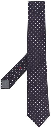 Brunello Cucinelli Micro Dot Silk-Blend tie