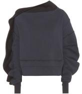 Burberry Sweat-shirt Asymétrique En J